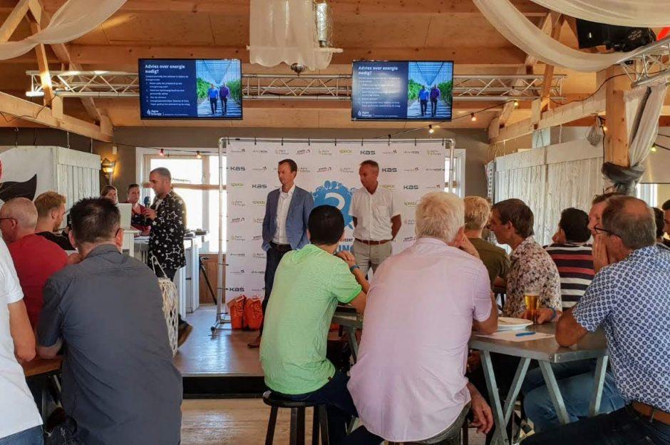 Chris Feijen en Kees Tetteroo worden voorgesteld als adviseurs tijdens de energieronde.