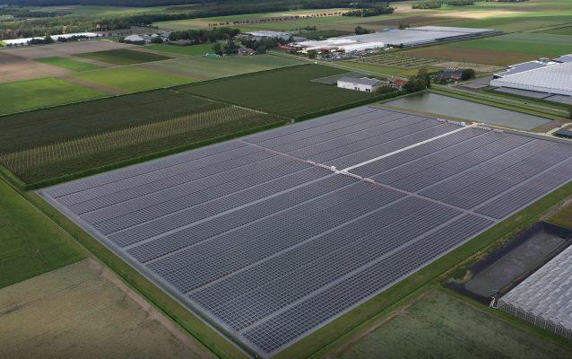 Zonne-energie terugleveren Kwekerij Bernhard